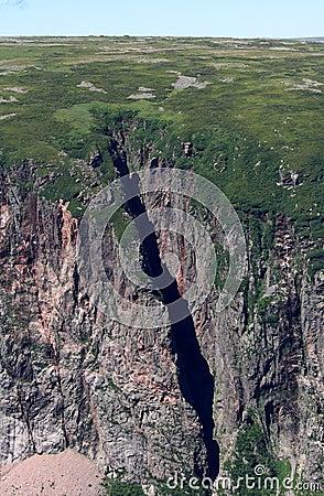 Cliffs in Gros Morne