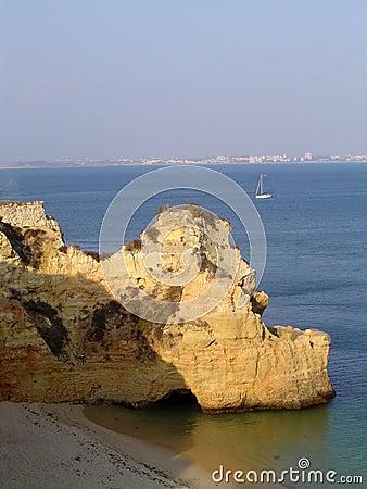 Cliffs in Lagos