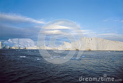Cliffs Made Of Ice