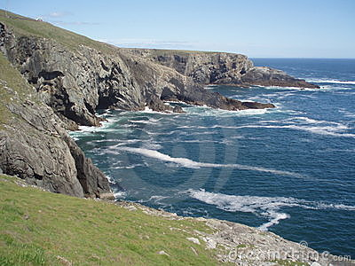 Cliffs on Mizen Head, Ireland