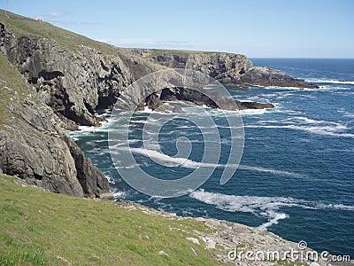 Cliffs on Mizen Head, Ireland