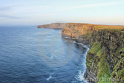Cliffs of Moher in Ireland.