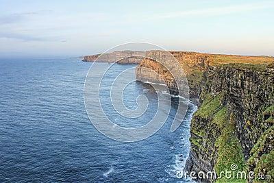 Cliffs of Moher in Ireland.