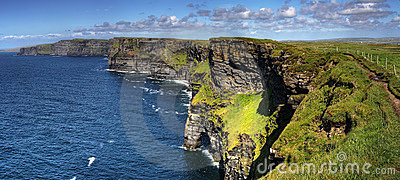 Cliffs of Moher panoramic