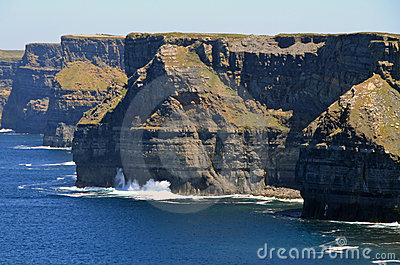 Cliffs of Moher scenery