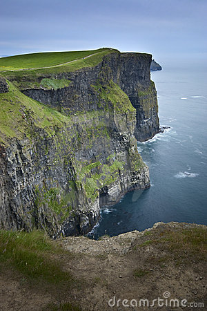 Cliffs Of Moher At Twilight Stock Photography - Image: 14913082