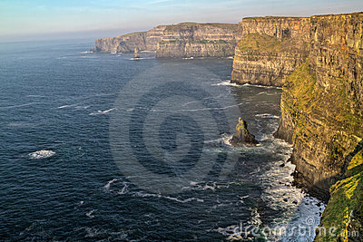 Cliffs of Moher in west Ireland