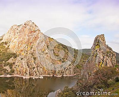 The cliffs of Monfragüe