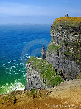 Free Cliffs Of Moher Stock Image - 15655881