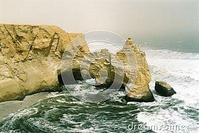 Cliffs at Paracas