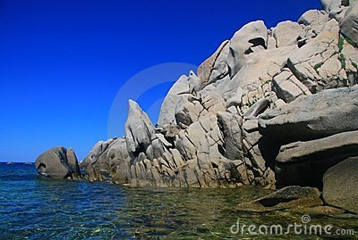 Cliffs - Sardinia coast
