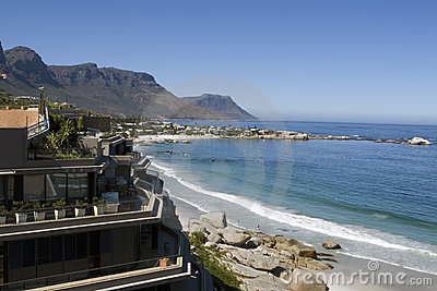 Clifton beach near Cape Town