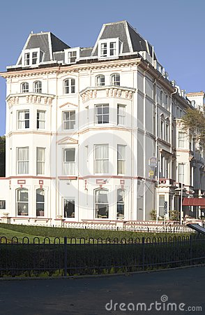 The Clifton Hotel. Folkestone. England Editorial Stock Photo