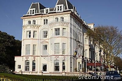 The Clifton Hotel. Folkestone. England Editorial Stock Photo