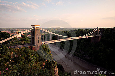 The Clifton Suspension Bridge Bristol