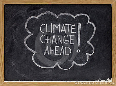 Climate change ahead