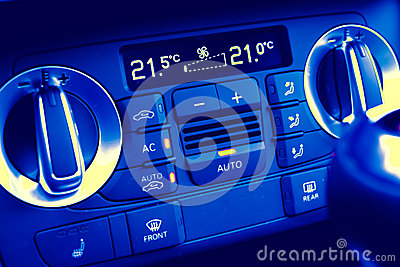 Climate control in motor car
