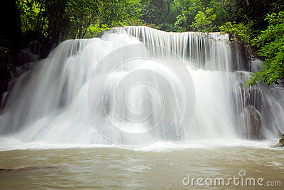 Climate waterfall