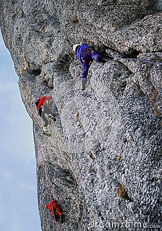 Climb in Costila