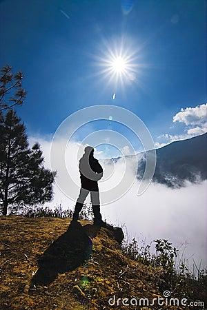 Climb mountain a member
