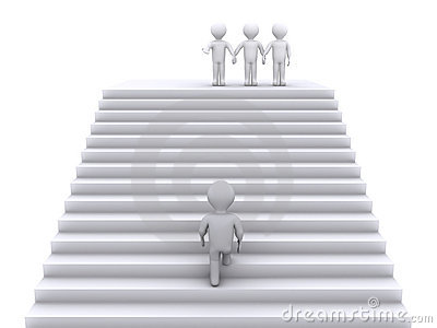 Climb the stairs to join the team