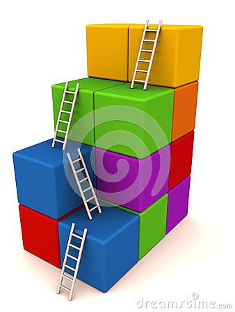 Climb success ladder
