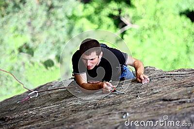 A climber
