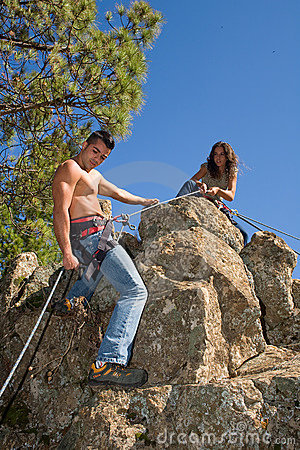 Free Climber Stock Photos - 6631163