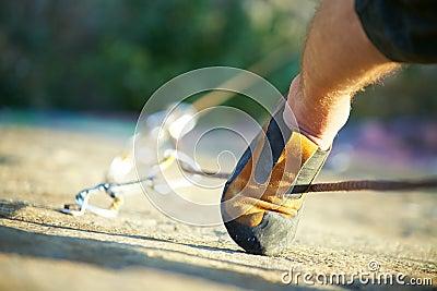 Climber s foot