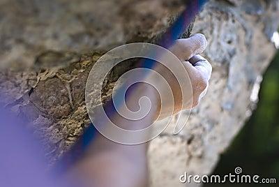 Climber s hand