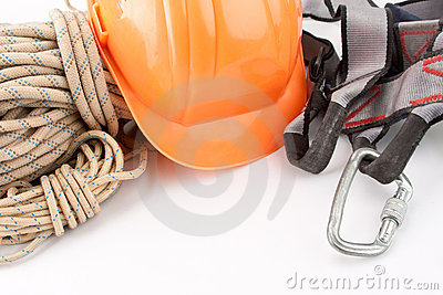 Climber s ropes and protective wear