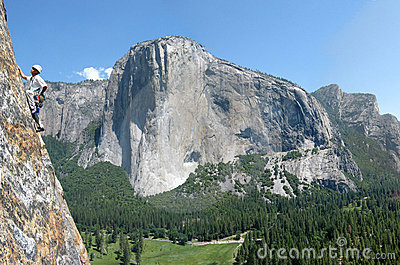 Climber in Yosemite