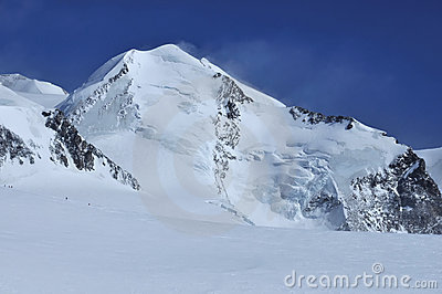 Climbers on Castor