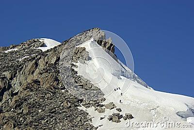 Climbers team conquer peak