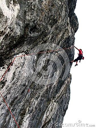 Free Climbing Royalty Free Stock Photo - 827165