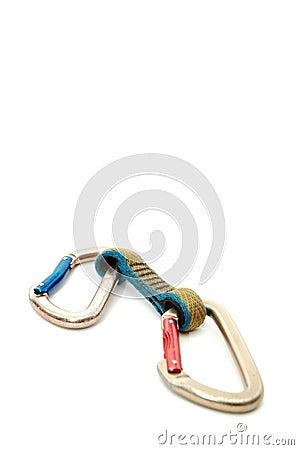 Climbing equipment -  Two carabiners  #2