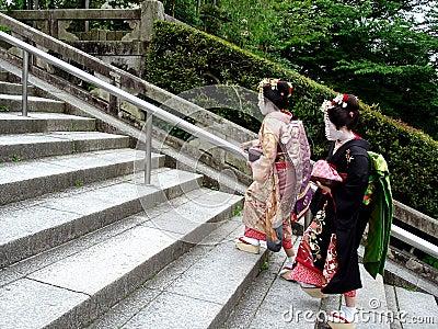 Climbing Geishas
