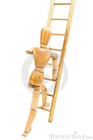 Free Climbing Ladder Royalty Free Stock Photo - 23999685