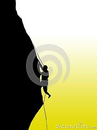 Free Climbing Rock  Royalty Free Stock Image - 12546486