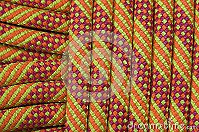 Climbing rope detail