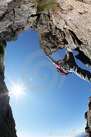 Free Climbing Route Royalty Free Stock Photo - 5972905