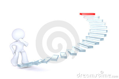 Climbing the stairs of success