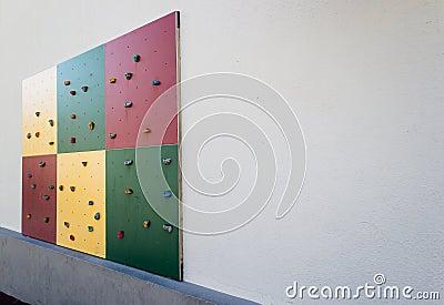 Climbing wall - angle 2