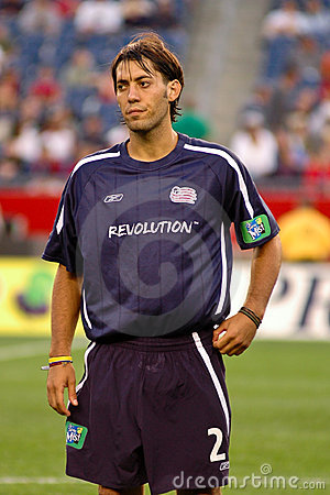 Clint Dempsey New England Revolution Editorial Stock Photo