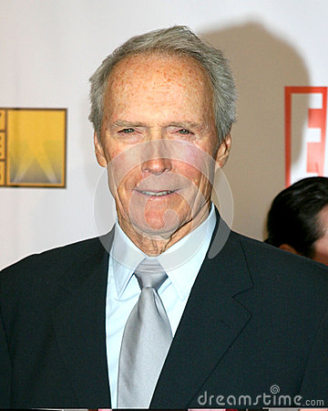 Clint Eastwood Editorial Stock Image