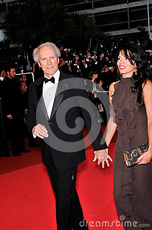 Clint Eastwood,Dina Eastwood Editorial Stock Image