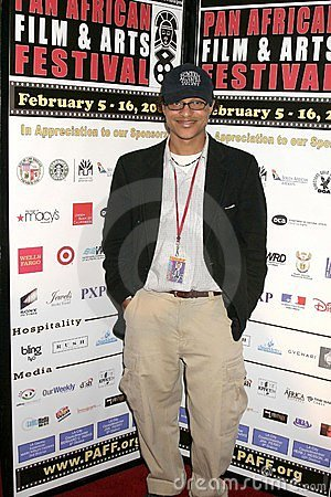 Clinton H. Wallace at the Pan African Film Festival Premiere of  Layla . Culver Plaza Theatre, Culver City, CA. 02-13-09 Editorial Photo