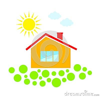 Clip-art of house