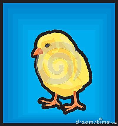 Clip art new born chiken