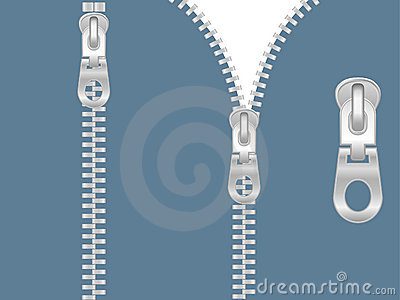 Clip-art Of Zipper Stock Images - Image: 4450354
